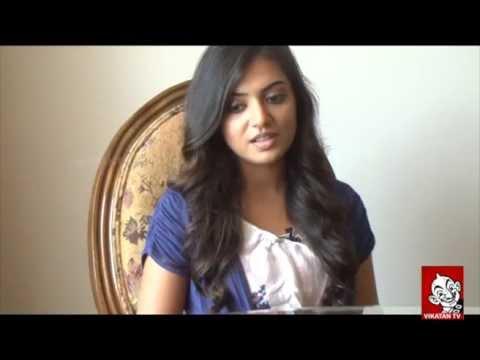 Interview with actress Nazriya Nazim - Ananda Vikatan