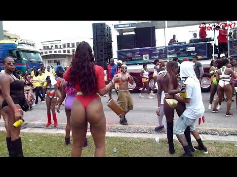 Trinidad Carnival Monday 2017 - Clip 2 (Fantasy and Entice Mas Bands)
