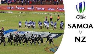Samoa show immense strength v All Blacks (Match Highlights)