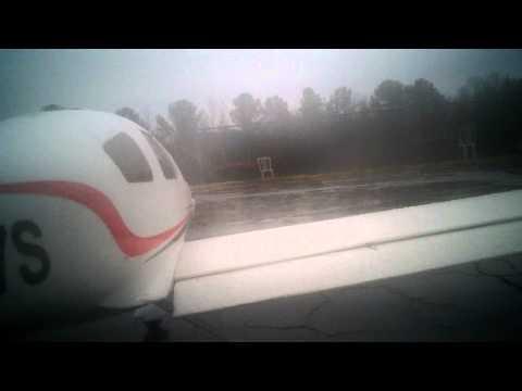 12-16-2012 Atlanta RC Club Field Flyzone Cessna 350 Corvalis In Flight Video 4