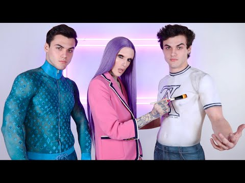 Xxx Mp4 Body Painting Clothes On The Dolan Twins 3gp Sex