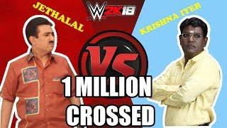 WWE 2K18 Jethalal VS Krishna IYER [ EXTEME RULES]  PART - 1