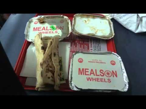 [IRFCA] Meal on Wheel, 3rd AC Food in Dibrugarh Rajdhani Express