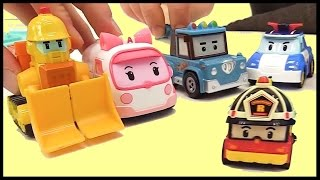 CAN DUMPOO SWIM? - Robocar Poli Toy Cars ORBEEZ Stories for kids - Videos for kids