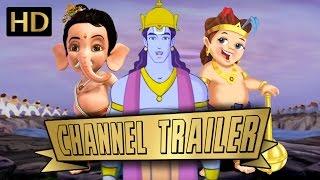 Shemaroo Kids CHANNEL TRAILER | Bal Ganesh, Ghatothkach , Nursery Rhymes & Many More