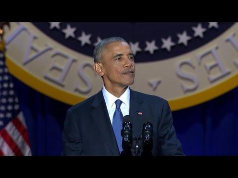 President Barack Obama s Farewell Address ABC News