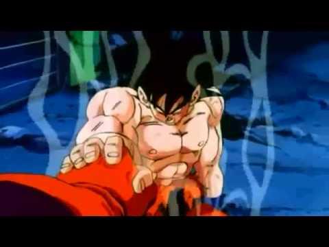 DragonBall Z Goku Turns Into  Super Saiyan god english