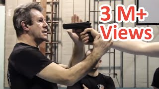 KRAV MAGA TRAINING • The Fastest gun disarm (Tutorial)