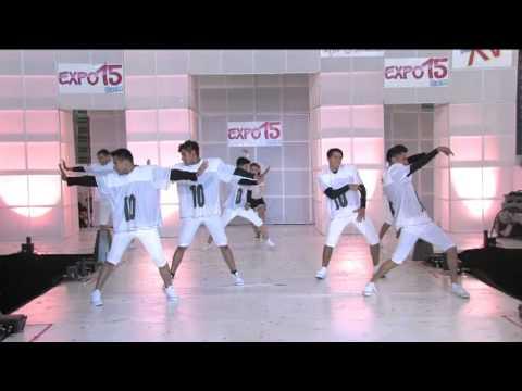 Padrísimas coreografías Grupo Celebre Expo 15 México