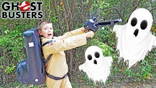 Ghostbusters featuring Sketchy Mechanic and Smalls! Epic Silly Kids Video