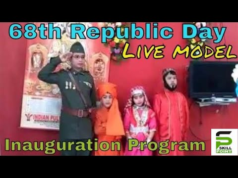 68th Republic Day Inauguration Programme | Live Model & Dance Show| Santragachi New Star Club | 2017