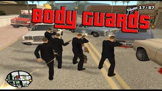 GTA San Andreas | Body Guards | CLEO | +[DOWNLOAD LINK]
