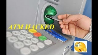 ATM MACHINE SWIPING SOFTWARE HACKED
