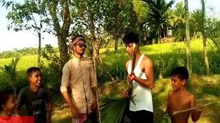 Bangla funny song Dom Thakite দম থাকিতে এই জীবনে পিরিতির নাম আর লৈমুনা পিরিতে ফি