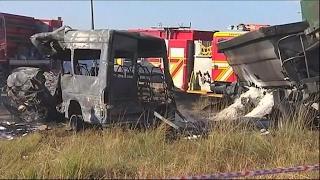 South Africa: 20 children killed in bus crash near Pretoria
