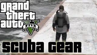 ★ GTA 5 - How to Get Scuba Gear | Location
