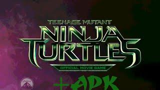 Teenage Mutant Ninja Turtles official movie game IOS/android +apk