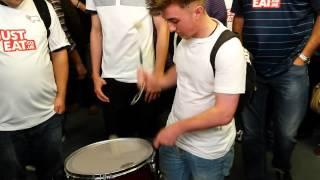 Derby County's Drummer Boy.