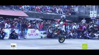 TEAM DFG stunt show at zero gravity 2K15