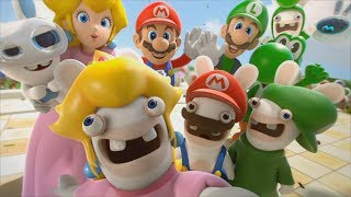 Mario + Rabbids Kingdom Battle Walkthrough Finale - World 4-9 FINAL BOSS & Ending