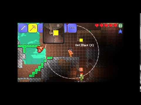 Играем в Terraria на Android #2 - Комнату каждому