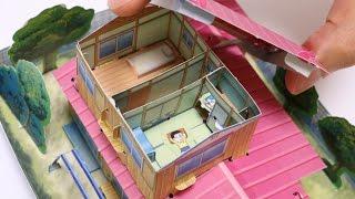 Diy Doraemon House Paper Craft