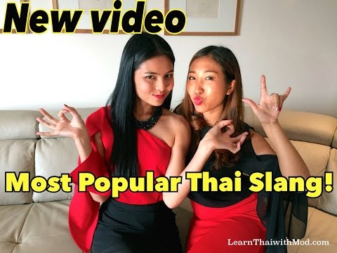 10 Most Popular Thai Slang of the Year!
