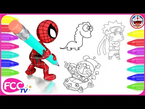 Xxx Mp4 How To Color Learn To Draw Cartoon Characters Naruto Nobita Doaremon Dinosaur Coloring Pages 3gp Sex