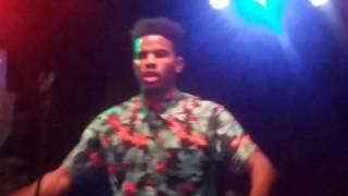 Trevor Jackson concert part 1