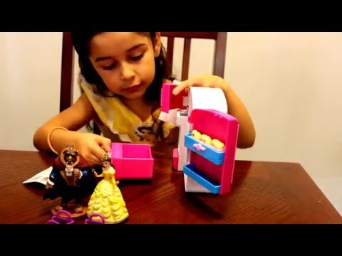 SHOPKINS -SO COOL FRIDGE- WITH princess bell