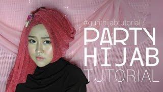 Party Hijab Tutorial #3 | Gurit Mustika