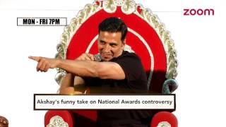 Akshay Reacts In His Style On National Awards Controversy | Bollywood News