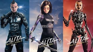 Alita: Battle Angel (2019) Cast ⭐ Before and After | Real Name and Age (Reparto Películas)