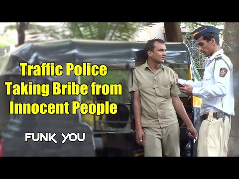 Mumbai Police Taking Bribe From Innocent People! Funk You (Prank in India)