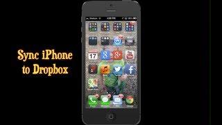 Dropbox iPhone App ~ How To Sync iPhone Photos To Dropbox