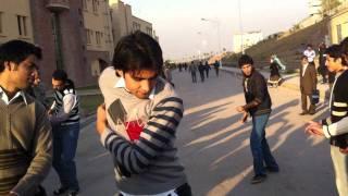pasthun attan in comsats university islamabad