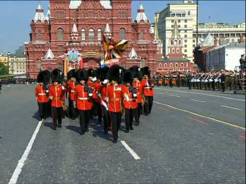 watch Foreign contingents join victory parade in Moscow (by RT)