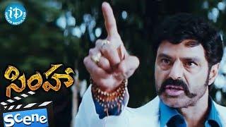 Bala Krishna Super Scene - Simha Movie