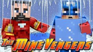 Minecraft MineVengers - CAPTAIN AMERICA GETS FROZEN SOLID!!!