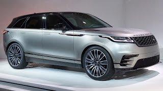 2018 Range Rover Velar Unveiling!