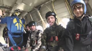Základní parašutistický výcvik LKLN 25.4.2015