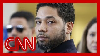 Police footage shows Jussie Smollett with a noose around his neck