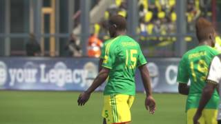 PS4 PES 2017 Gameplay Ghana vs Congo HD