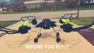 Before you fly your Drone!!!