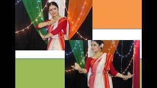 Antara Bhadra || Aji Bangladesher Hridoy Hotey | Rabindra Nath Tagore | Dance