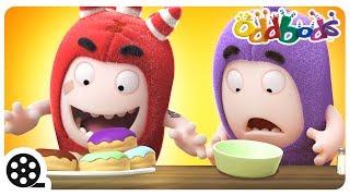Cartoon | Oddbods - Food Flicker | Funny Cartoons For Children