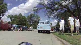 Trike cruisin' the 32nd annual KKOA Leadsled Spectacular in Salina, KS  07/28/12