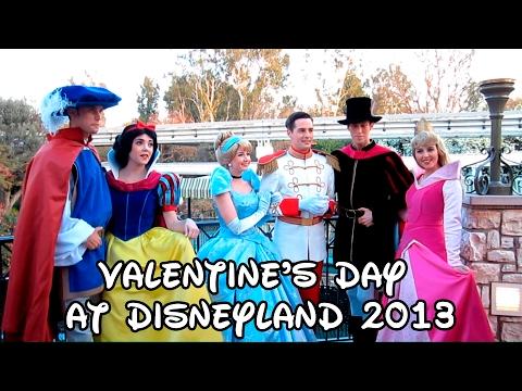Valentine's Day at Disneyland 2013