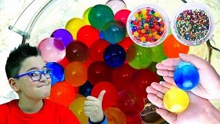 PALLINE GELATINOSE COLORATE - Leo Toys