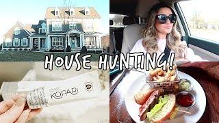 TOURING NEW HOUSES! House Hunting Vlog #2 | Liza Adele